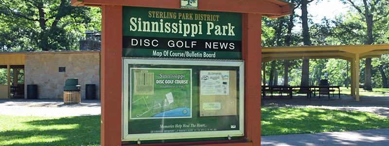 Sinnissippi Park Disc Golf