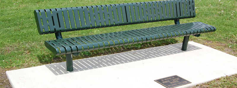 Tree & Park Bench Donation Program