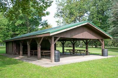 Sinnissippi Park Shelter